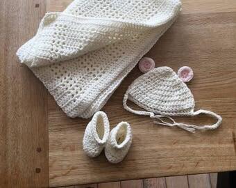 New Born Blanket Set