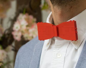 Red Bow Tie (Adult) - Custom LEGO Kit