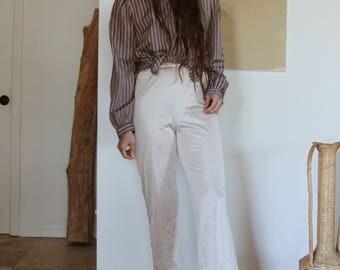 Silk Ladies Slip Pants