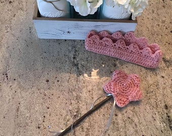 Believer crown and wand set