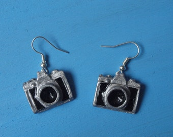 Earrings Camera Photo Earring Vintage Earrings