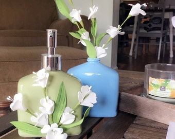 Soap Dispenser & Vase Set