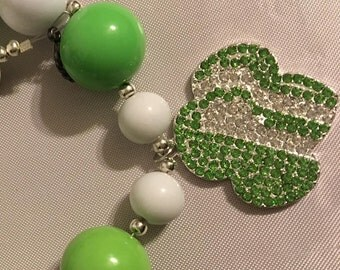 Girl Scout Chunky bead Necklace