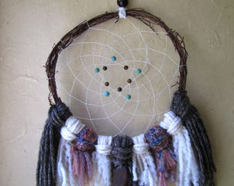 Dream Catcher • Turquoise & Tiger Eye