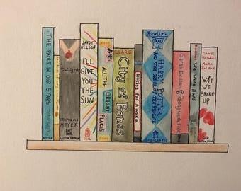 Custom book painting