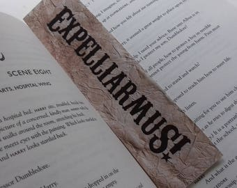 NEW! Printable Bookmarks Harry Potter Digital Download Gift Book Film Expelliarmus Ten Points to Gryffindor Harry Potter Quote