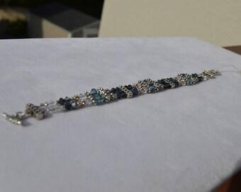 Swarovski Crystal Double Strand Bracelet