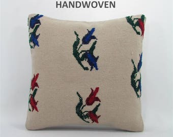 throw pillow antique kilim pillow boho rug pillow throw pillow cover decorative pillow home decor pillows 000786