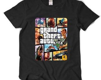 Grand Theft Auto 5 GTA 5 T Shirt Men Short Sleeve