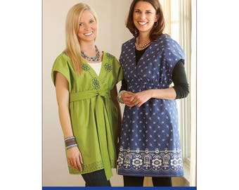 Indygo Junction Crossover Tunic Pattern