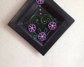 """Quilled paper art: """"Really in Peace"""""""