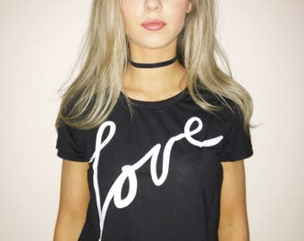 Love Cropped T-shirt