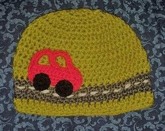 Car Crochet Beanie