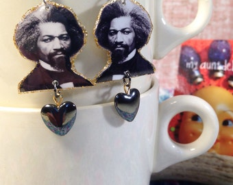 Frederick Douglass Earrings abolitionist civil rights activist slavery fantastic