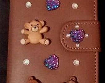 Teddy Bear Wallet Phone Case for I Phone 6 & 6s