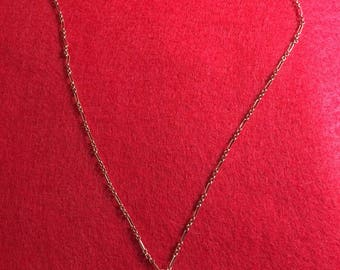 Copper birdsnest necklace