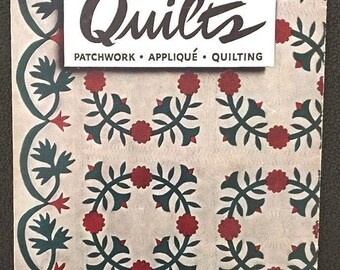 Spool Cotton Company Quilts Book No. 190 ~ Vintage Quilting Pattern Leaflet