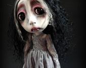 Loopy Southern Gothic Art Doll Victorian Dark Goth Vampire Camilla