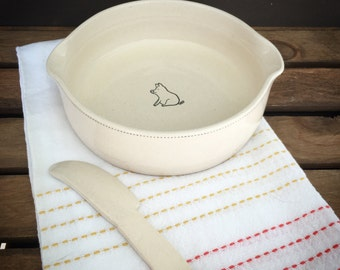 Ceramic Brie Baker - READY TO SHIP