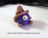 Round Coil Monster - Feeping Creatures monster figurine