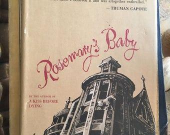 Ira Levin Rosemary's Baby 1967 Hardcover Random House