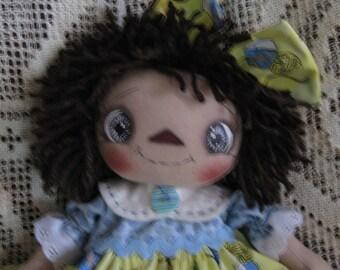 Primitive Raggedy Ann/Annie