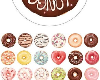 Donut Love Washi Tape • Doughnut Washi Tape