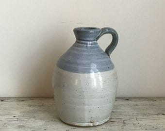 vintage Berea College Kentucky studio pottery jug