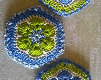 Flower hot pads