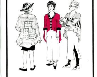 Park Bench Pattern Company Audubon Park No. 14 Swing Coat Quilt Block Wearable Art Uncut Sewing Pattern
