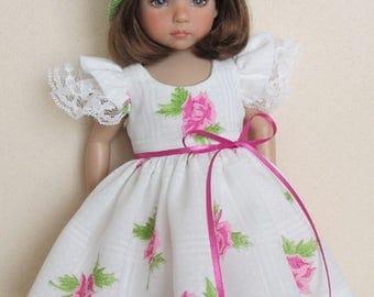 For 13'' Effner Little Darling - Sun Dress and Lovely Crocheted Hat