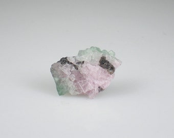 Pink & Green Tourmaline Rough Gemstone Reiki Healing Natural Metaphysical