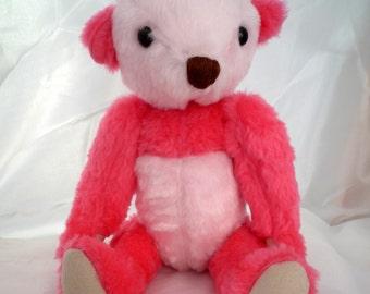 Pink Teddy Bear Panda Pinky-Bea - 16 inch
