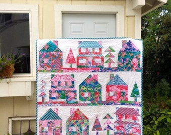 The Village Quilt Pattern
