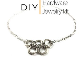 Necklace Jewelry Kit  DIY Hardware Jewelry