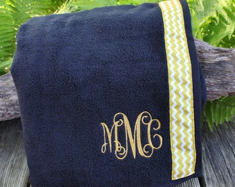 Black - Spa Wrap Towel with SNAPS - Graduation / BRIDESMAIDS / Girls Trip Gifts / New Mom