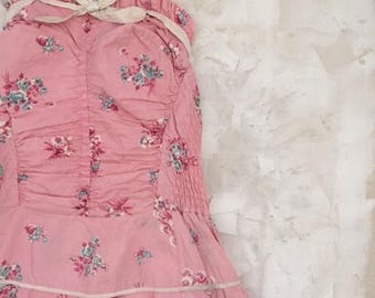 1950's Floral Swimsuit