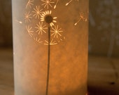 SECONDS SALE! Dandelion candle cover half price!
