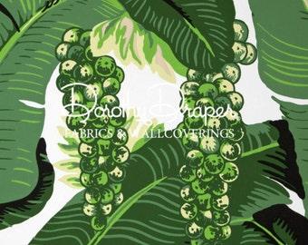 Brazilliance Wallpaper Dorothy Draper- Palm Leaf Wallpaper - Banana Leaf Wallpaper - The Greenbrier Resort