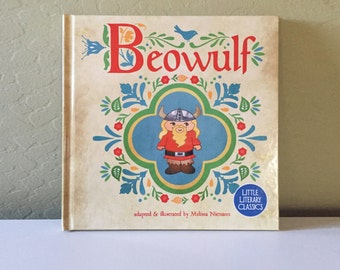 Beowulf hardcover Little Literary Classics baby toddler book paperback 8.5 by 8.5 inches boy Denmark folk tale adventure