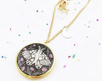 Limited Edition Creature of the Night Locket - Gold
