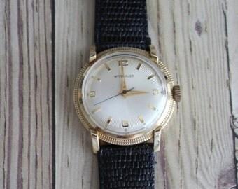 Vintage Wittnauer 1960 Wrist Watch by avintageobsession