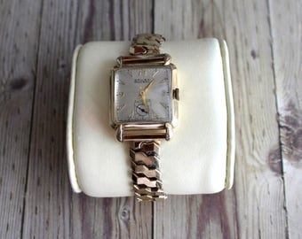 Vintage Swiss Gruen 10K Gold Filled Wrist Watch by avintageobsession on etsy...FREE USA Shipping...20% Discount