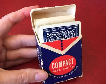 Vintage Vend-A-Deck, Compact Size Playing Cards - 52 Cards plus 2 Jokers