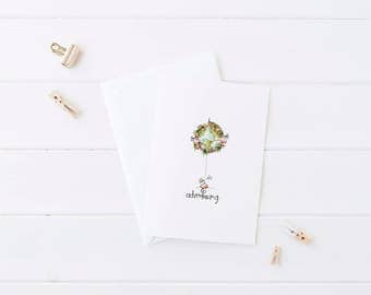go adventuring. -- set of 5 notecards