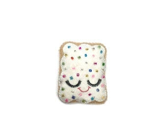 Pop Tart Brooch - Cute Brooch - Kawaii brooch - Sprinkle Toaster Pastry - Kawaii Pins - Christmas Gifts