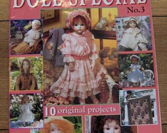 Doll Special magazine no 3 Australian Dolls Bears publishers 10 original projects