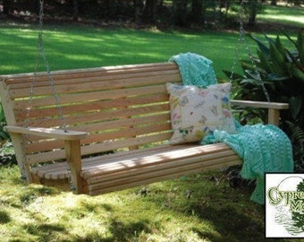 4 ft. Cypress Porch Swing (FREE SHIPPING)