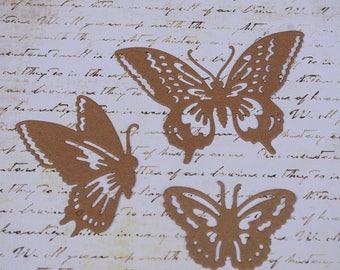 Butterfly Chipboard Die Cut Set