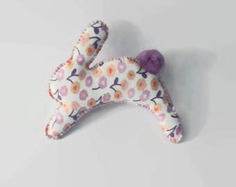 Rattle Cat Toy - Bunny